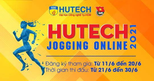 Giải chạy bộ trực tuyến HUTECH JOGGING ONLINE 2021 chính thức nhận đăng ký từ 11/6