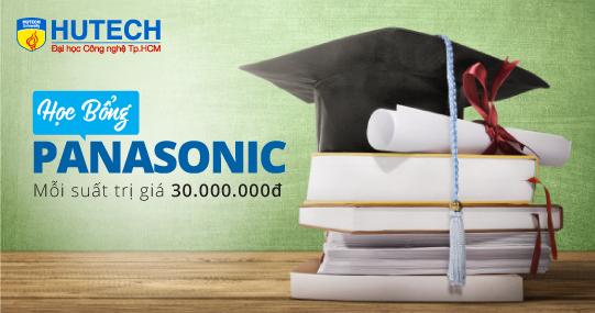 Cơ hội nhận Học bổng trị giá 30 triệu đồng từ Panasonic Việt Nam dành cho sinh viên HUTECH