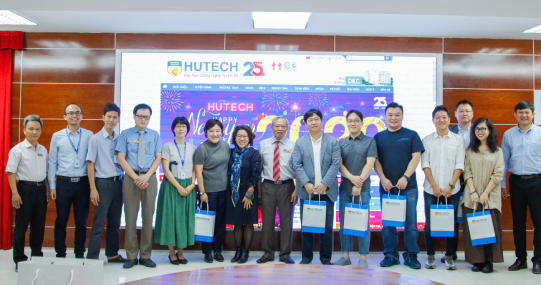 HUTECH đón Tập đoàn  NAVER đến làm việc và triển vọng hợp tác trong lĩnh vực Công nghệ thông tin