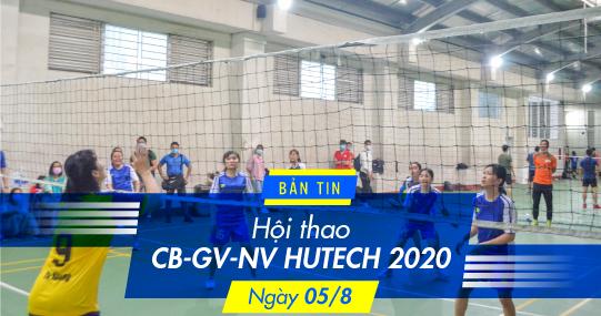 Bóng chuyền nữ Hội thao CB-GV-NV 2020: Vé Chung kết đã có chủ!