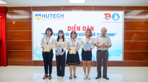 Sinh viên HUTECH chia sẻ cảm nhận về hành trình học tập tư tưởng Hồ Chí Minh