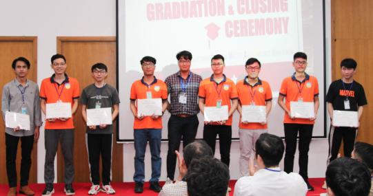 FPT Software trao chứng chỉ hoàn thành GST Lite và Mastering Agile Project Management cho Sinh viên HUTECH