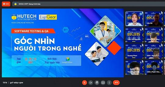 """Hành trình nghề nghiệp """"Software Testing & QA"""" của sinh viên IT HUTECH cùng LogiGear Việt Nam khởi động"""