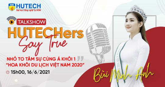 Gặp gỡ Á khôi Bùi Minh Anh và khám phá bí quyết trở thành sinh viên HUTECH năng động