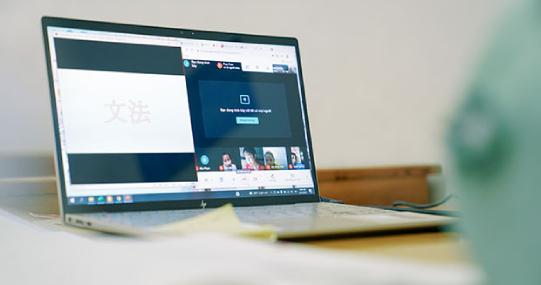 Sinh viên HUTECH chính thức bước vào kỳ thi Học kỳ 2B theo hình thức trực tuyến