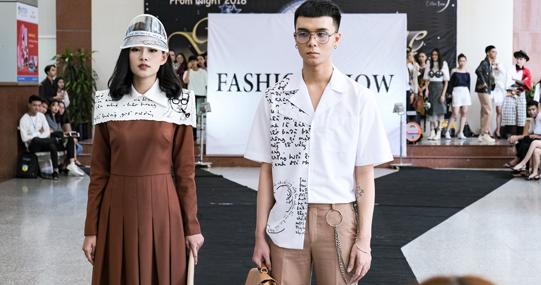 Công sở và đường phố - Fashion Show của sinh viên HUTECH