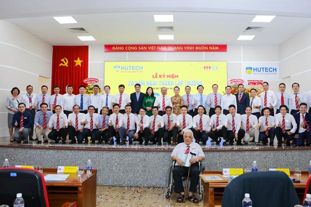 HUTECH long trọng tổ chức Lễ kỷ niệm 26 năm ngày thành lập Trường