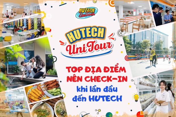 Top địa điểm nên check-in khi lần đầu đến HUTECH