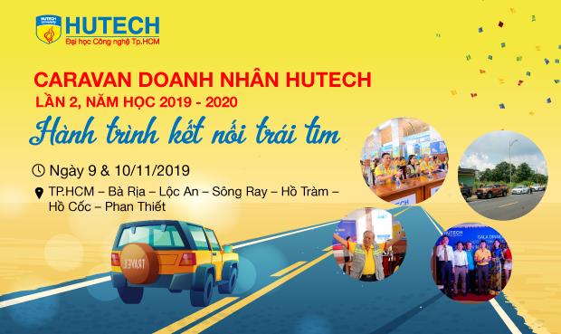 Trailer Caravan doanh nhân HUTECH2019 - Hành trình kết nối trái tim