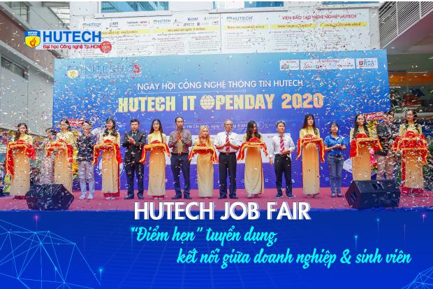 HUTECH Job Fair điểm hẹn doanh nghiệp và sinh viên