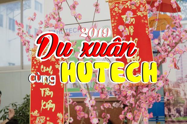 Du xuân cùng HUTECH 2019