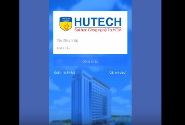Hướng dẫn sử dụng ứng dụng e – HUTECH