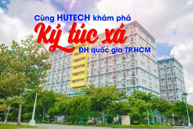Cùng HUTECH khám phá Ký túc xá Đại học Quốc gia TP.HCM