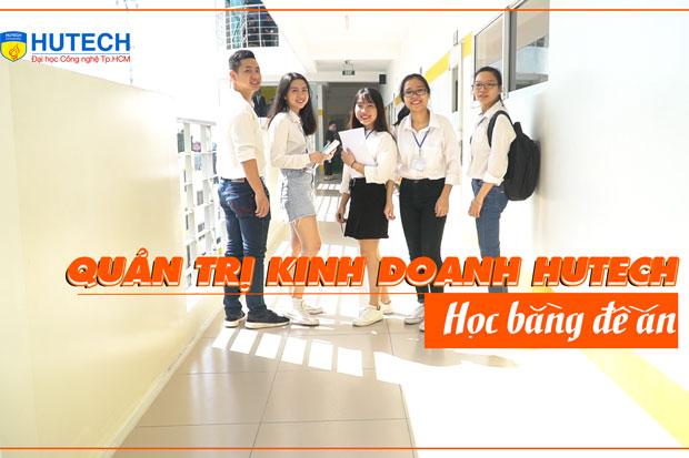 Sinh viên ngành Quản trị kinh doanh HUTECH học bằng đề án