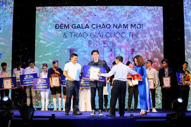 Tài năng tỏa sáng tại Gala trao giải HUTECH's Talent 2017